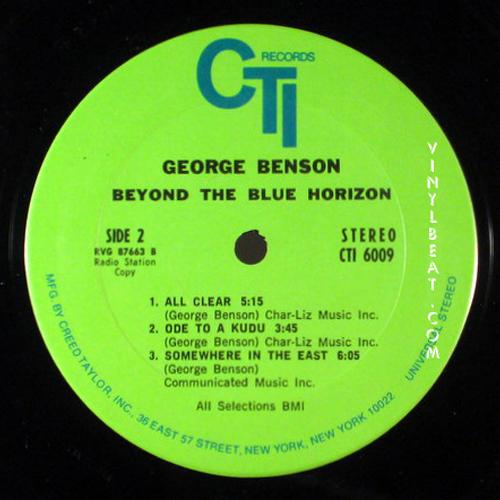 vinylbeat: lp label guide: record labels a - c: cti