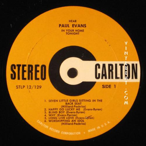 Vinylbeat Com Lp Label Guide Record Labels A C Carlton
